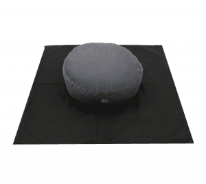 Meditation Matt Cover Square (black)