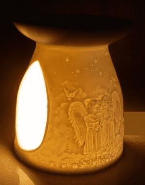 Oil Evaporator Porcelain Angels