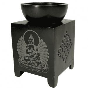 Oil Evaporator Buddha Soapstone