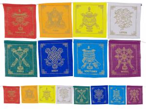 8 Prosperity Symbols Flags