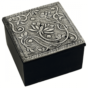 Jewelry Box Lotus (5.5 X 5.5 Cm)