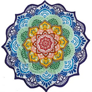 Beach Towel Seven Chakra's Mandala