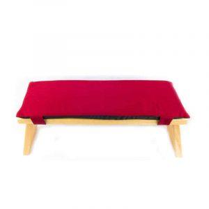 Meditation Bench Cushion Red