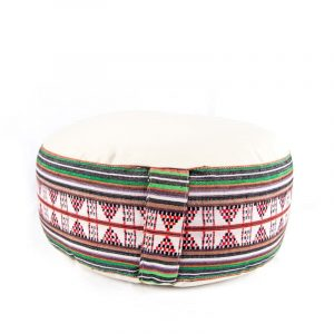 Meditation Cushion Tribe Cream