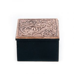 Jewelry Box Lotus Copper Color