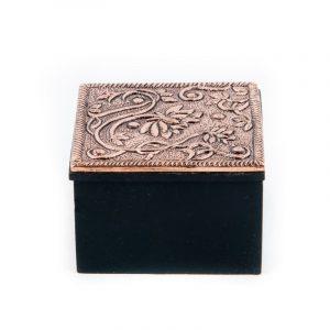 Jewelry Box Lotus Copper Color