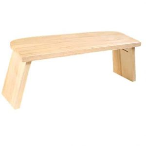 Meditation Bench American Oak (foldable)
