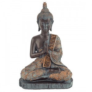 Buddha Antique Finish Thailand - 23 Cm
