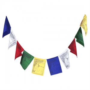 Tibetan Prayer Flags The Four Friends