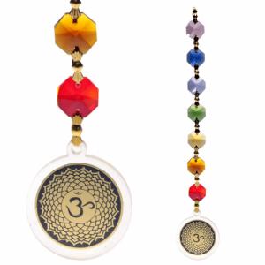 Feng Shui - Kruinchakra Pendant Decoration