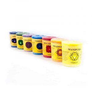 Chakra Pattern Odour candles Gift suit (Set of 7)