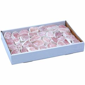Rose quartz Crude in Box