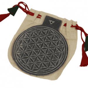 Slate Relief Flower of Life (10 cm)