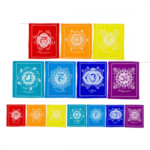 7 Chakras flags Cord