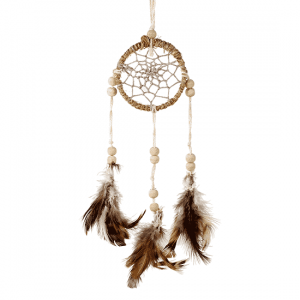 Dream catcher Hemp Natural (5.5 x 20 cm)