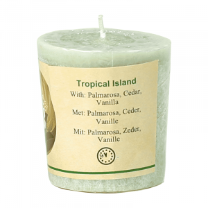 Chill-out Odour candle Tropical Island Stearin