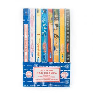 Satya Incense Nag Champa Collection (8 packs)