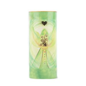 Affirmation candle Angel of Prosperity