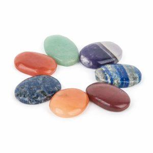 Set of 7 Chakra Stones Oval