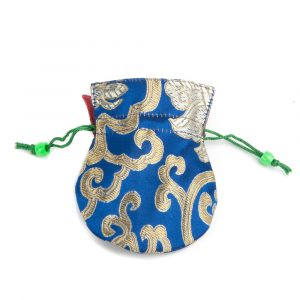 Brocade bag Blue