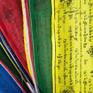 Flags of Prayer Tibetan Cord Large (25 flags)