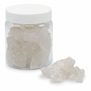 Rock Crystal Chips in Pot