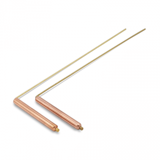 Dowsing rod (Per pair) Brass-Buyer (29 x 8 cm)