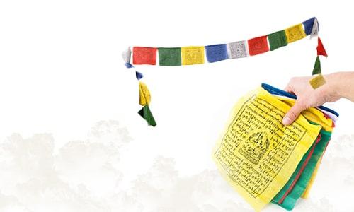Tibetan Flags of Prayer