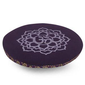 Cushion 7 Chakra - Purple Crown