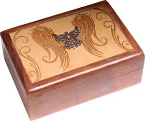 Jewelry box with Engel Engraved