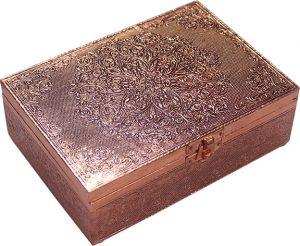 Jewellery box - Copper - Mandala