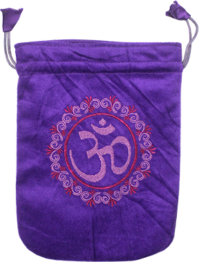 Velvet Bag - OHM - Purple