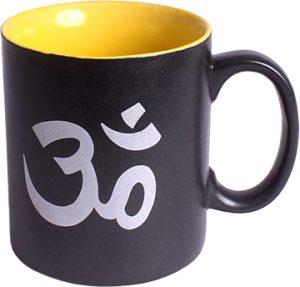 Black Ceramic Coffee Mug - OHM