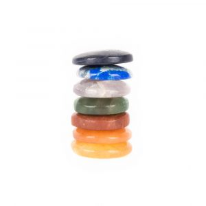 Round Chakra Gemstones Set of 7