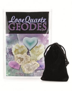 Geodes Love Quartz Display Set  (1 piece)