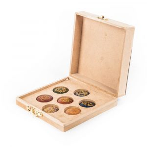 Chakra Gemstones in Storage Box