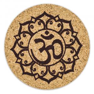 Ohm Lotus Coasters (Set of 6)