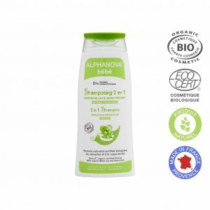 Vegan Organic Baby Shampoo 2 in 1