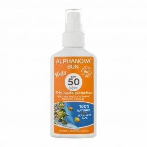 Vegan  Sunscreen spray for children (SPF 50)