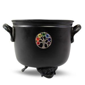 Cauldron (Heksenketeltje) Flower of Life