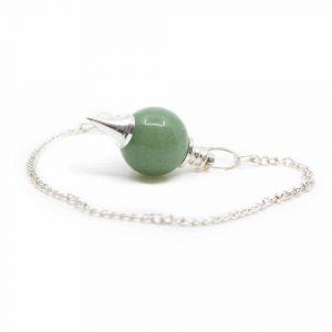 Pendulum Gemstone Green Aventurine Sphere