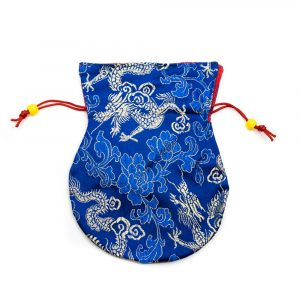 Brocade Bag Handmade - Dark Blue