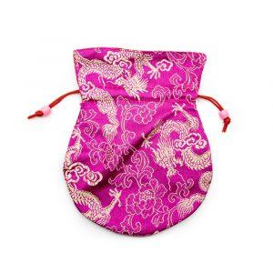 Brocade Bag Handmade - Pink