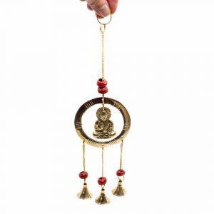 Window Pendant with Bells - Buddha - Protection