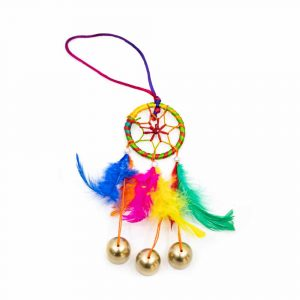 Colourful Dreamcatcher with Bells (15 cm)