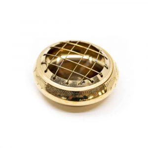 Traditional Incense Burner Brass (7 cm)