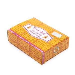Goloka Incense Cones Nag Champa (10 cones)