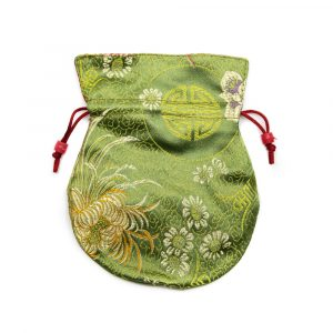 Brocade Bag Handmade - Green