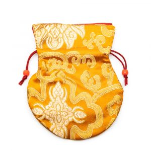 Brocade Bag Handmade - Orange