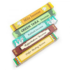 Tibetan Traditional Incense - Gift Set - 5 Kinds